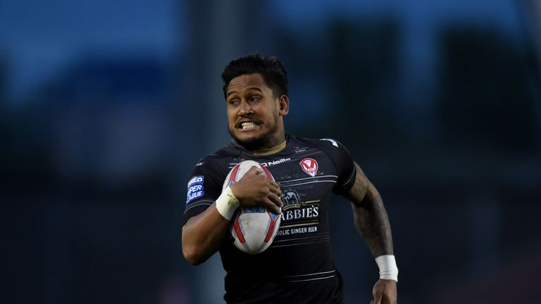 St Helens' Ben Barba had his own disciplinary issues in NRL