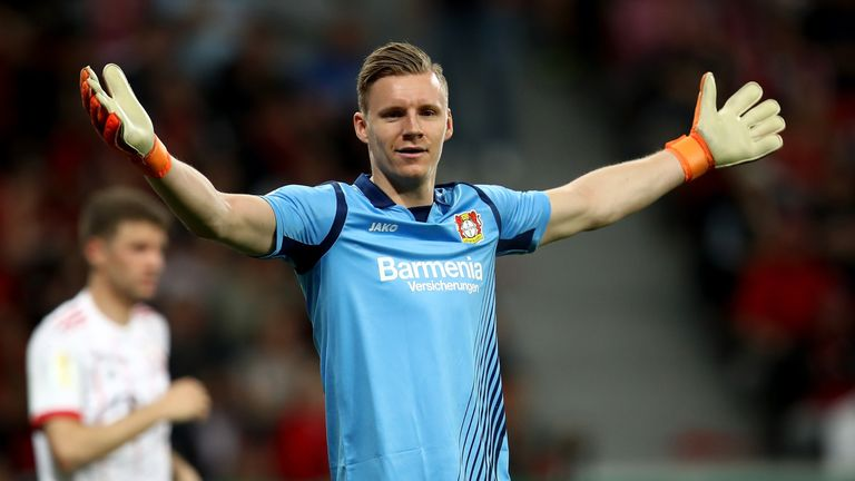 Leno has been at Leverkusen for seven years since joining from Stuttgart
