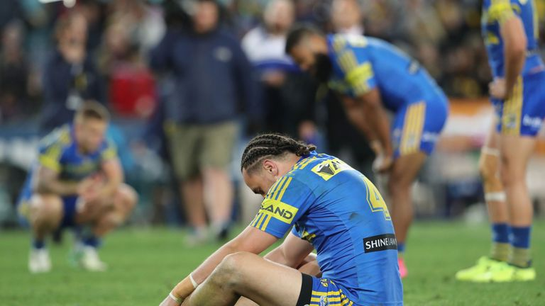 The Parramatta Eels are on the verge of their worst start to a season for 30 years