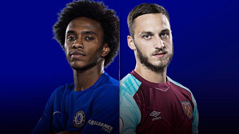 Watch Chelsea v West Ham live on Super Sunday