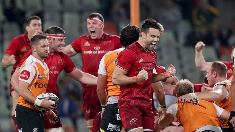 Conor Murray's remarkable 57 metre penalty ensured  a vital Munster victory over the Cheetahs on Friday