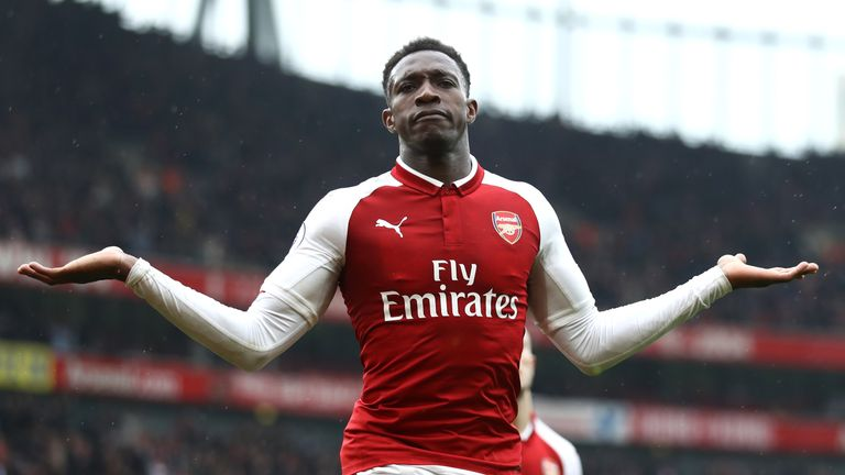 Danny Welbeck has five Premier League goals this season and makes the cut