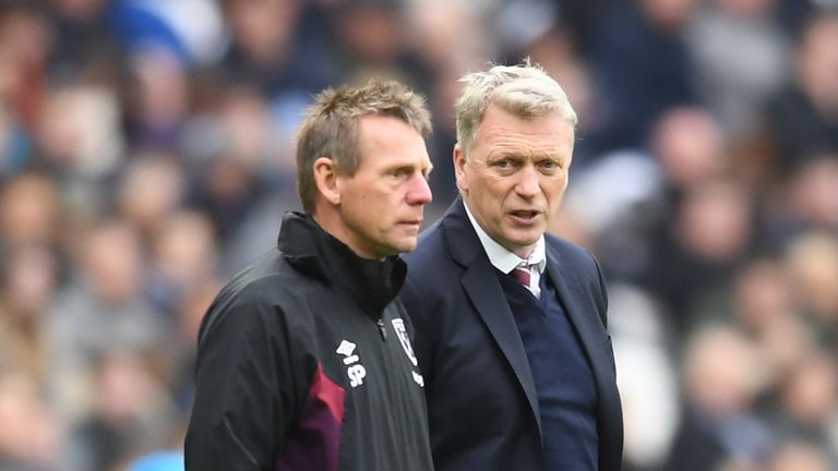Moyes' assistant Stuart Pearce has also left the Hammers