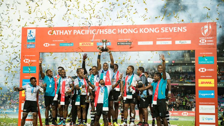 Fiji secured their fourth consecutive title in Hong Kong
