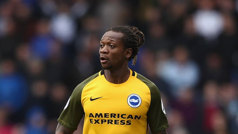 Gaetan Bong was booed by Burnley fans during Brighton's goalless draw at Turf Moor.