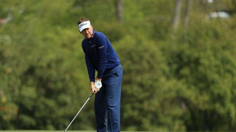 Poulter had seven birdies in the fourth round