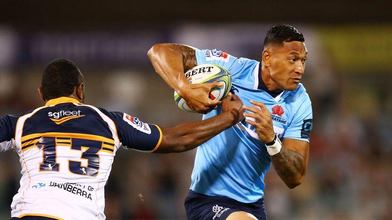 Israel Folau has not been formally sanctioned by Rugby Australia for anti-gay comments he made on social media last week