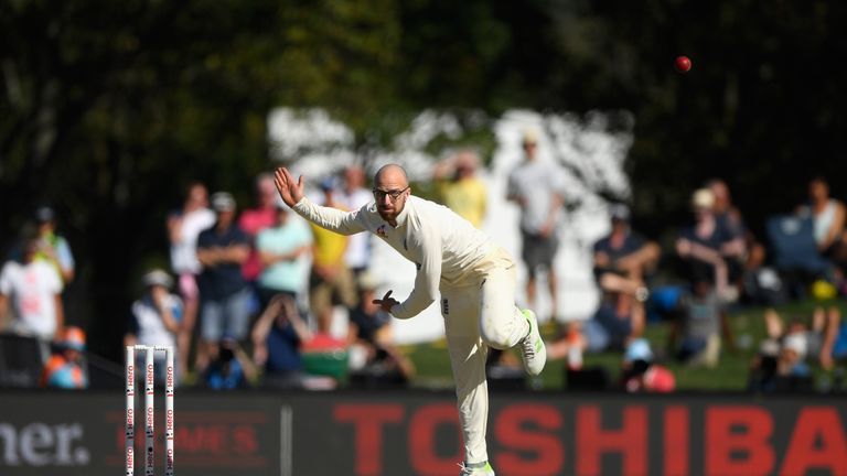 Michael Atherton says Leach is an ambitious and intelligent cricketer