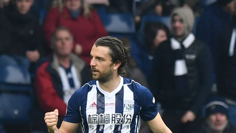 Jay Rodriguez opened the scoring for West Brom at the Hawthorns