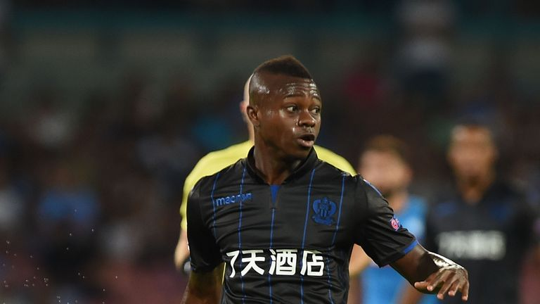 Jean-Michael Seri moved to Nice from Portugal in 2015