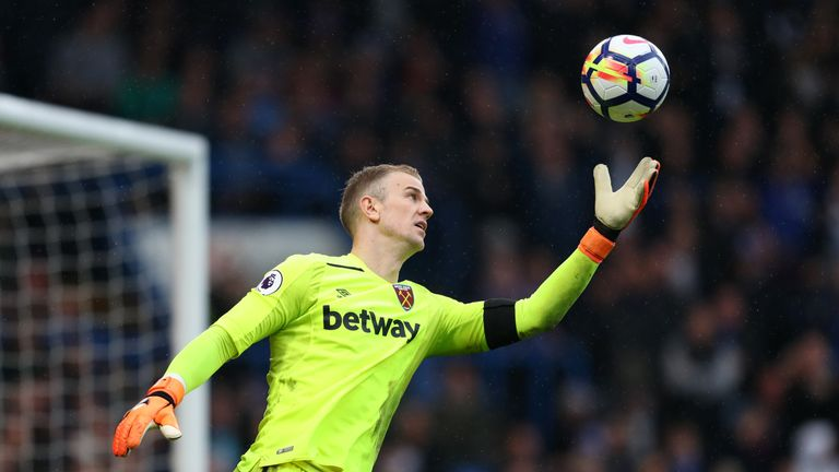 Joe Hart looked back to his best in West Ham's 1-1 draw with Chelsea