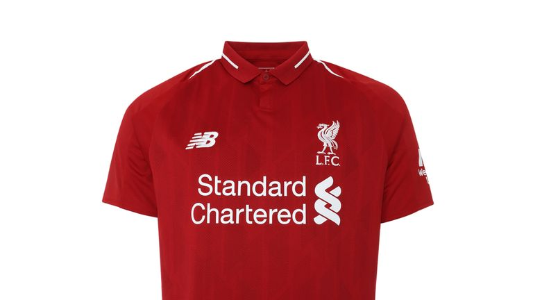 Liverpool unveil 2018/19 home kit