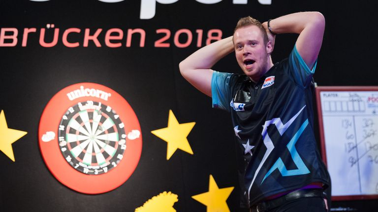 Max Hopp won a maiden PDC title with victory over Michael Smith on Sunday