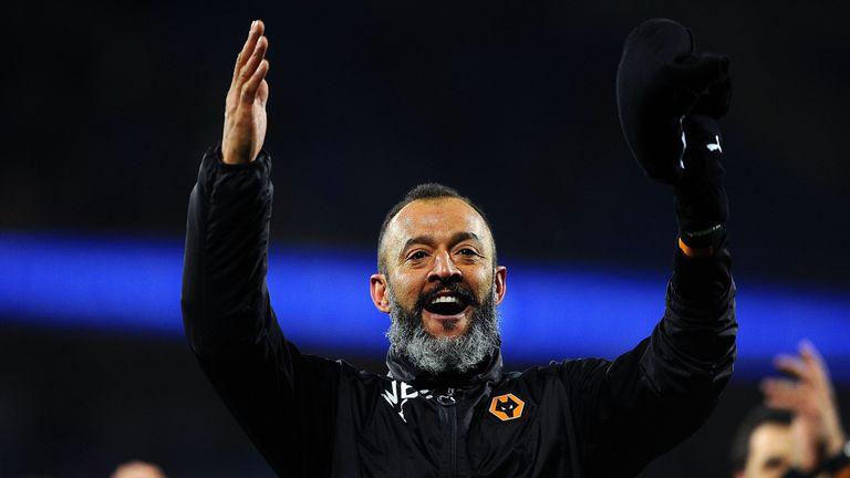 Nuno Espirito Santo has extended his Wolves contract