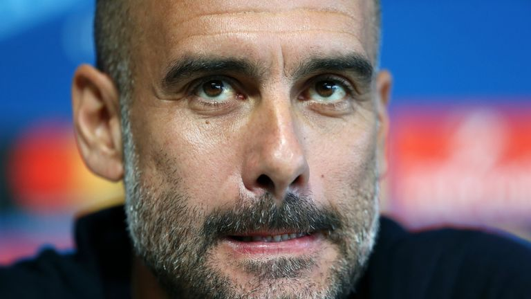 Pep Guardiola is looking to strengthen his title winners