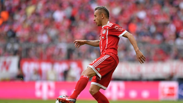 Rafinha produced an inspired performance in Bayern's victory over Eintracht Frenkfurt