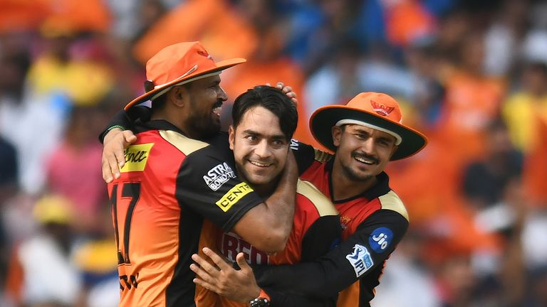 Sunrisers Hyderabad spinner Rashid Khan (Credit: AFP)