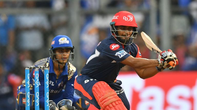 Delhi's Rishabh Pant can be brilliant to watch when he gets going (Credit: AFP)