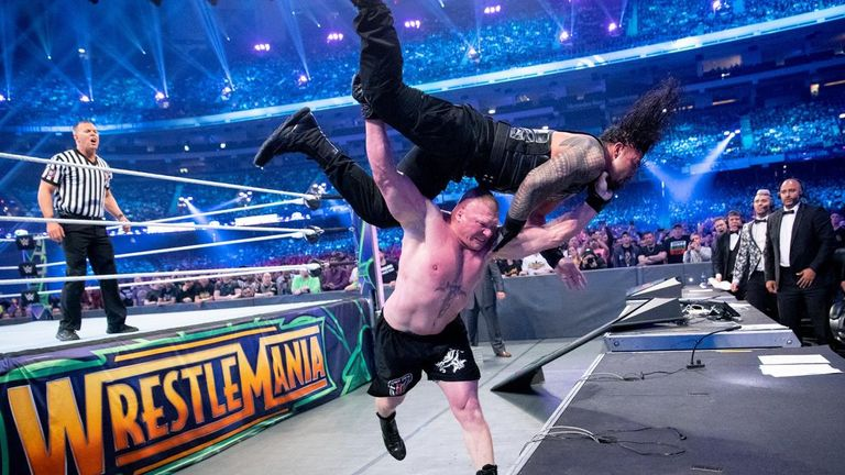 American wrestler Strowman wins first-ever Greatest Royal Rumble in Jeddah
