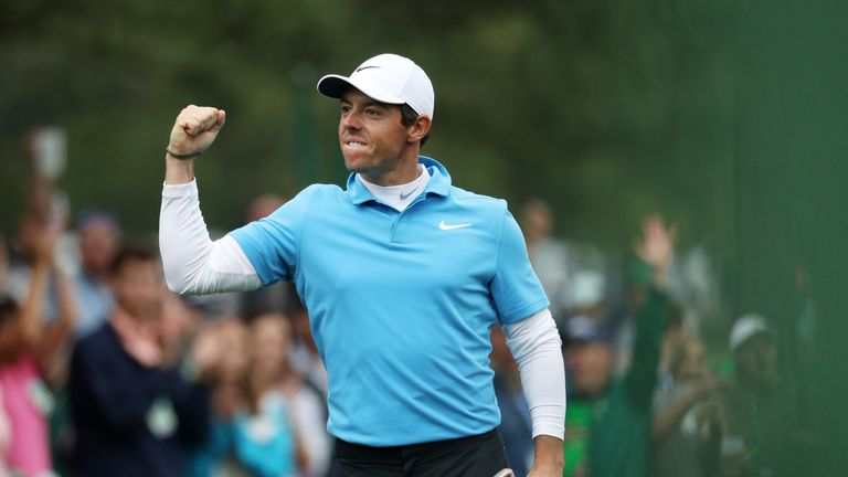 McIlroy is chasing a first major victory since 2014