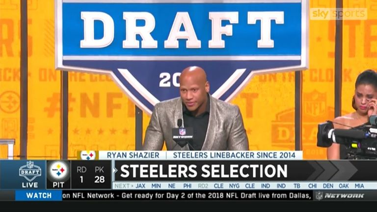 Steelers convert most of Ryan Shazier's salary to signing bonus