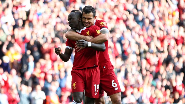 Sadio Mane scored as well as Mo Salah and Roberto Firmino in the Reds&#039 3-0 win