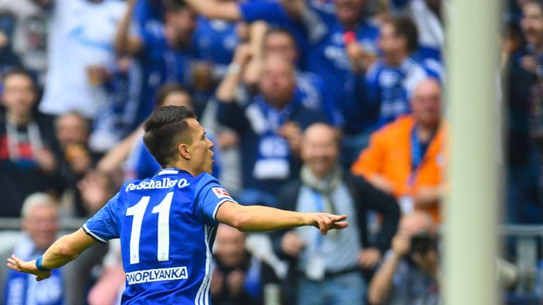 Yevhen Konoplyanka set Schalke on their way against Dortmund
