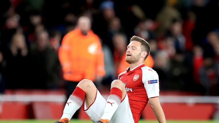 Arsenal defender Shkodran Mustafi has played down his World Cup chances