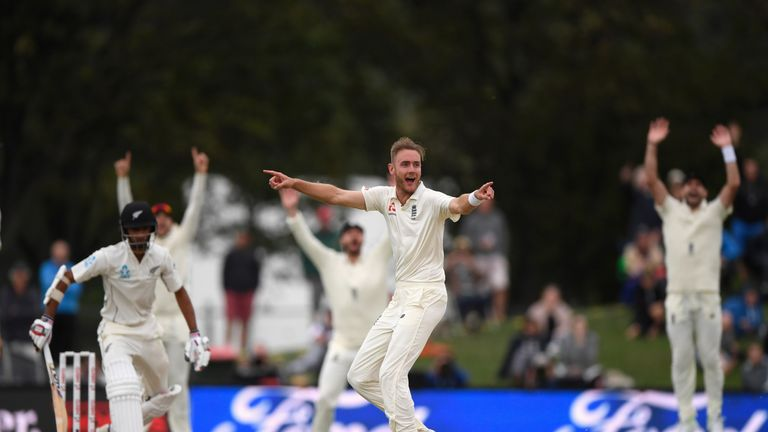 Stuart Broad took his 400th Test wicket during the recent series in New Zealand