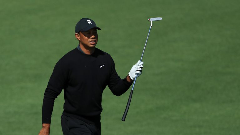 Woods finished outside the top 30 at the Masters