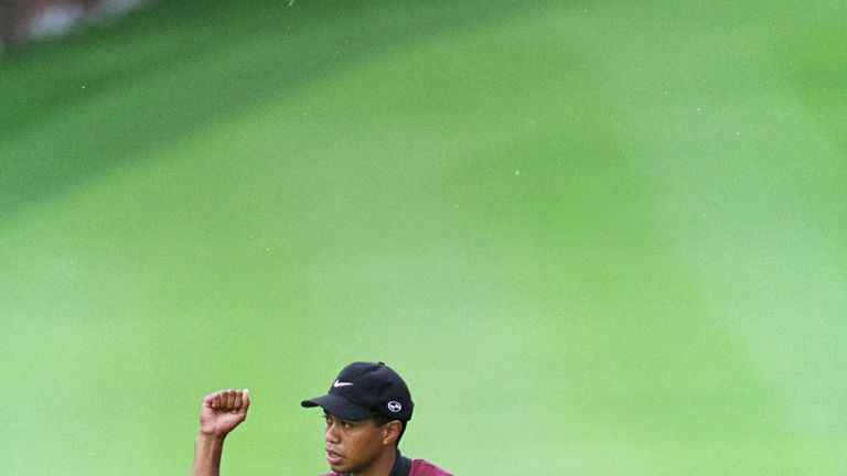 Tiger Woods won the inaugural WGC event at Firestone in 1999