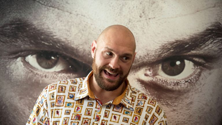 Tyson Fury will return to the ring next month