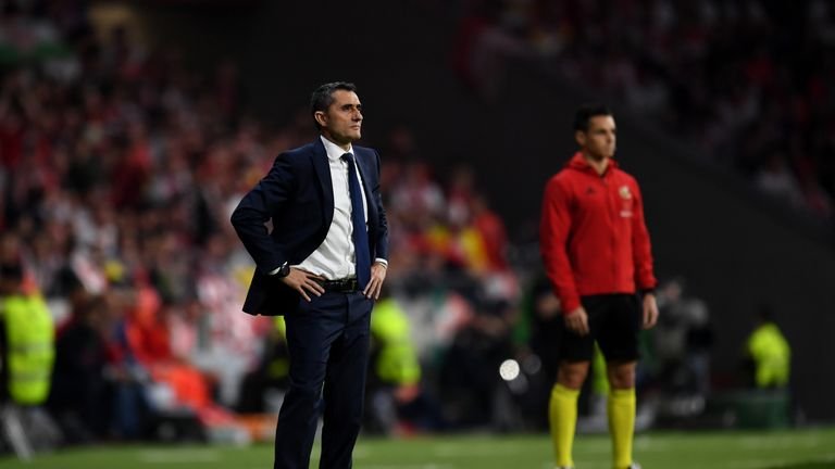 Ernesto Valverde will win La Liga with Barcelona at the first attempt if they beat Deportivo