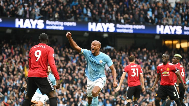 Manchester City finished well clear of second-placed United