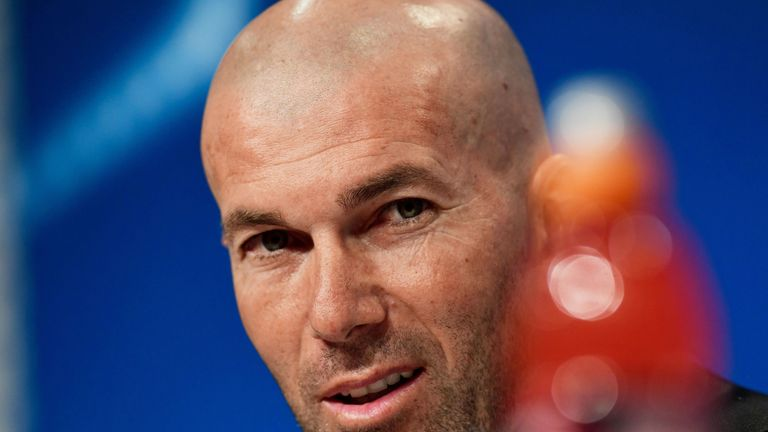 Zidane has won 103 of his 147 games in charge of Real Madrid