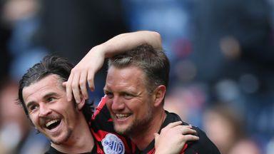 Joey Barton and Clint Hill were team-mates at QPR