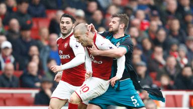 fifa live scores - Should Jack Wilshere have seen red for clash with Jack Stephens?
