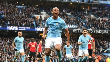 fifa live scores - Manchester City seal Premier League title after Manchester United suffer shock defeat