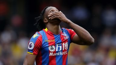 fifa live scores - Was Crystal Palace forward Wilfried Zaha rightly booked for simulation against Watford?