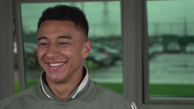 Jesse Lingard speaks to Soccer AM's Tubes about life at Manchester United