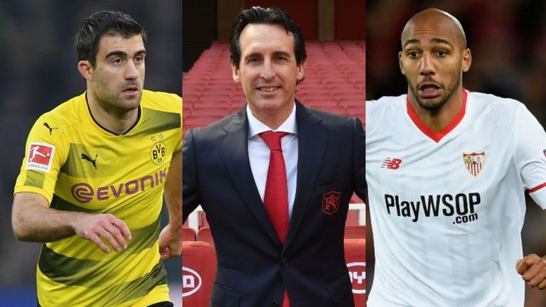 Who could join new head coach Unai Emery at Arsenal this summer?