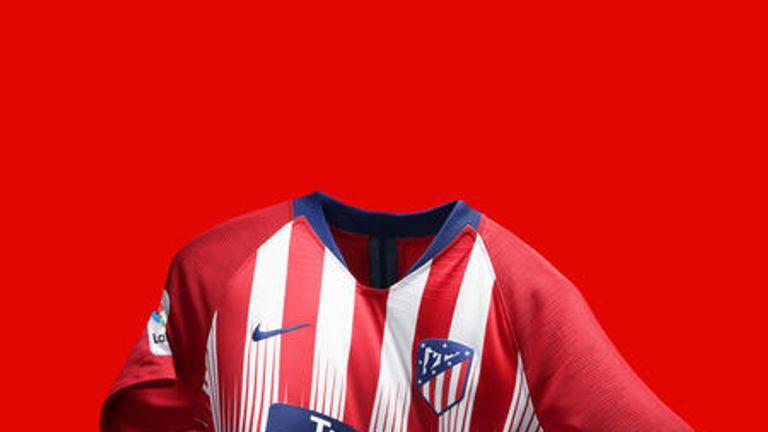Nike has revealed Atletico Madrid's new home shirt