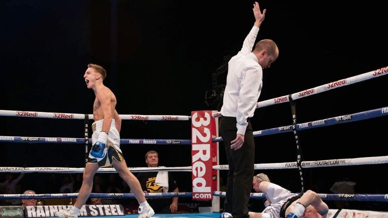 Jack secures another win as a pro (copyright: Sam Young)