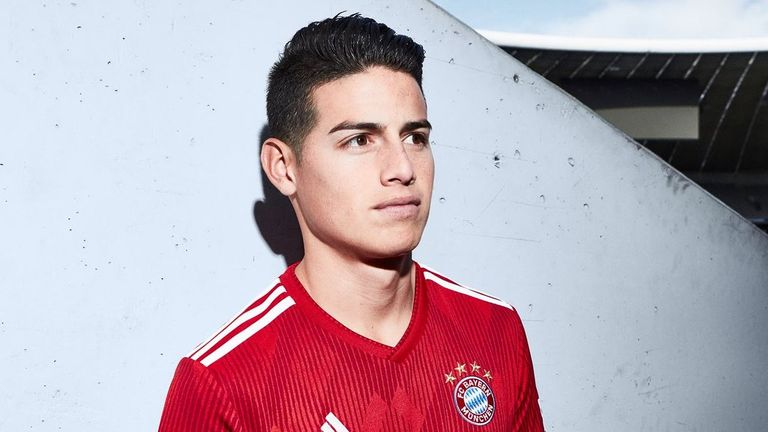 James Rodríguez is halfway through a two-year loan deal at Bayern