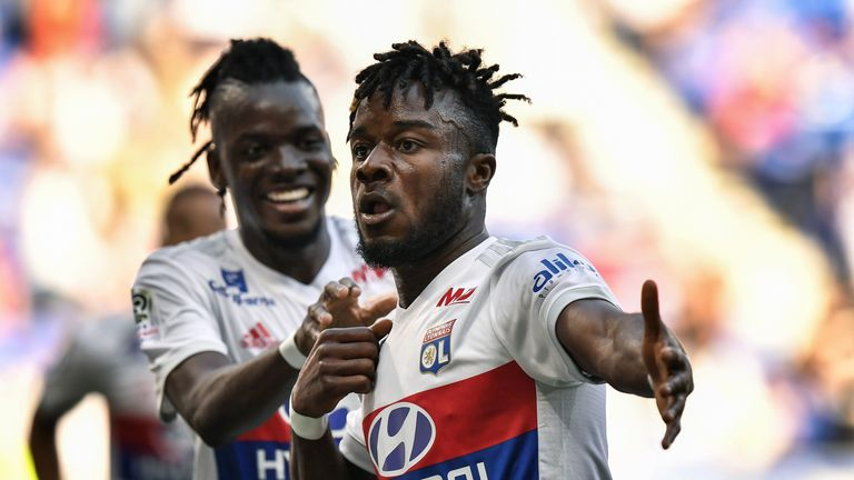 Maxwel Cornet added to Bertrand Traore's double as Lyon beat Troyes