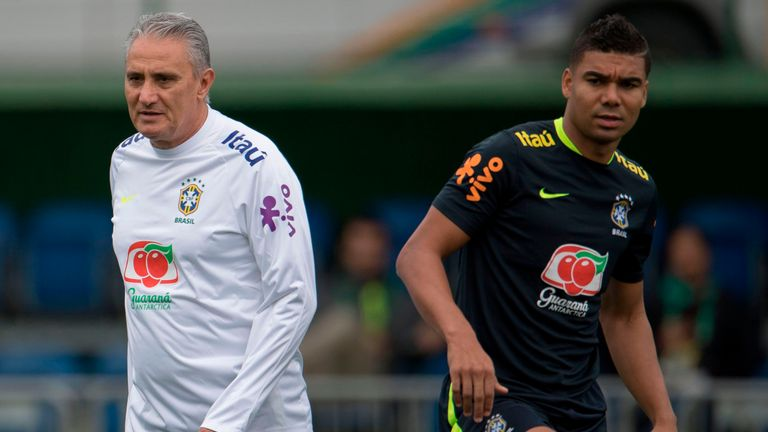 Tite (left) has been linked with the vacant Real Madrid job