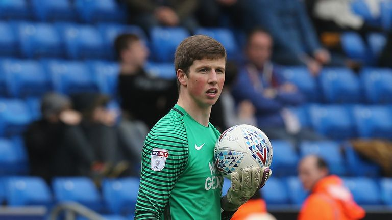 Conor O'Malley has made nine appearances for Peterborough
