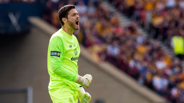 Craig Gordon is ready for a tough test against AEK  Athens