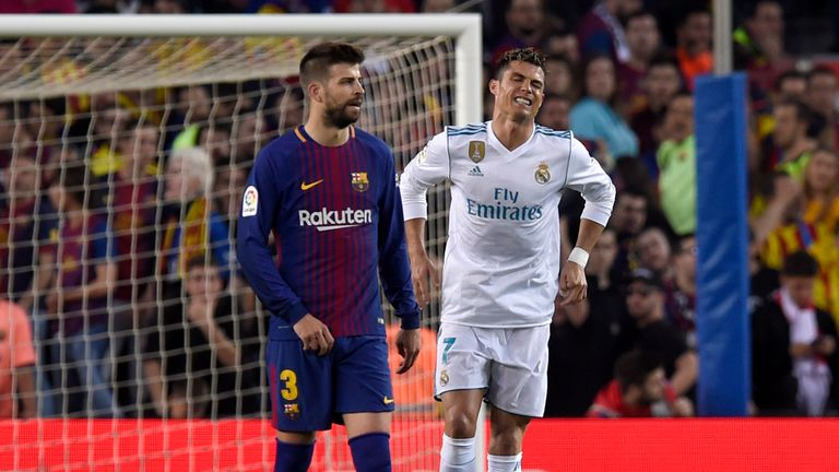 Zidane plays down Ronaldo injury in Barcelona game