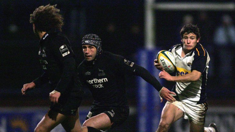 Care joined the Leeds Tykes academy just a year after turning his full attentions to rugby